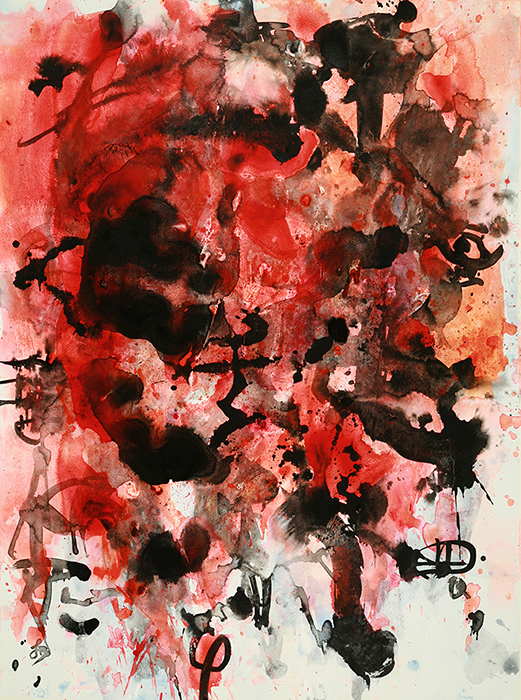 Abstract Artwork Red Tide 1